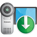 Video Camera Down - icon gratuit #190535