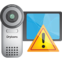 Video Camera Warning - icon gratuit #190545