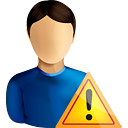 User Warning - icon #190565 gratis