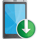 Smart Phone Down - Free icon #190695