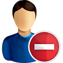 User Remove - icon gratuit #190755
