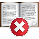 Book Delete - Free icon #191045