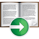 Book Next - Free icon #191055