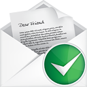 Mail Open Accept - icon gratuit #191085