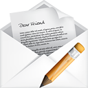 Mail Open Edit - icon gratuit(e) #191095