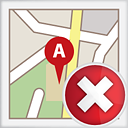 Map Delete - icon gratuit #191135