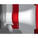 Megaphon - Kostenloses icon #191155