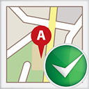 Map Accept - icon gratuit #191165
