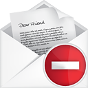 Courrier ouvert Remove - Free icon #191175