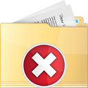 Folder Delete - icon gratuit(e) #191225