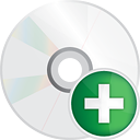 Disc Add - Free icon #191255