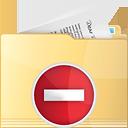 Folder Remove - Free icon #191315