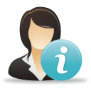 Businesswoman Info - icon gratuit(e) #192025