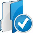 Folder Accept - Free icon #192075