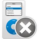 Удаление iPod - бесплатный icon #192125