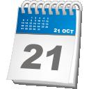 fecha del calendario - icon #192265 gratis