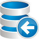 Database Previous - Free icon #192455