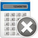 suppression de la calculatrice - icon gratuit #192485