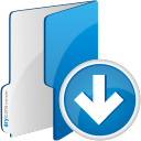Folder Down - icon #192505 gratis