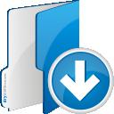 Folder Down - Free icon #192505