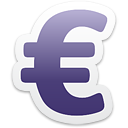 Euro Currency Sign - бесплатный icon #192945
