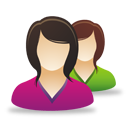 Female Users - Free icon #193035