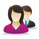 Business Female Male Users - Free icon #193065