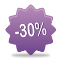 30 Percent Off - Free icon #193085