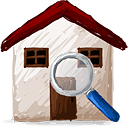 Поиск дома - бесплатный icon #193095