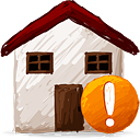 Home Warning - icon gratuit #193155