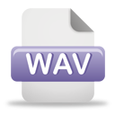 Wav File - icon gratuit #193235