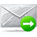 correo siguiente - icon #193355 gratis