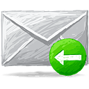 Mail Back - icon gratuit(e) #193365
