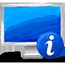 Computer Info - Free icon #193395