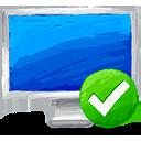 Computer Accept - icon gratuit(e) #193405