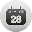 Calendar - icon gratuit(e) #193435