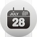 calendrier - icon gratuit #193435