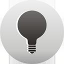 bombilla de luz - icon #193495 gratis