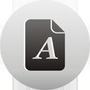 page de texte - icon gratuit #193525