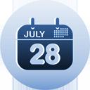 calendrier - icon gratuit(e) #193595