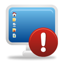 Computer Warning - icon gratuit(e) #193765
