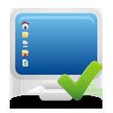 ordinateur accepte - icon gratuit(e) #193775