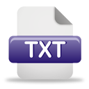 Txt File - icon gratuit #193845