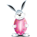 Bunny Egg Pink - Free icon #193875