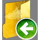 Предыдущая папка - бесплатный icon #194015