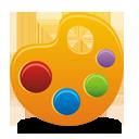 Palette - icon gratuit #194245