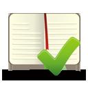 Livro aceitar - Free icon #194265