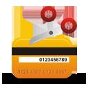 cartão de crédito cancelado - Free icon #194285