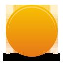 Orange Button - бесплатный icon #194335