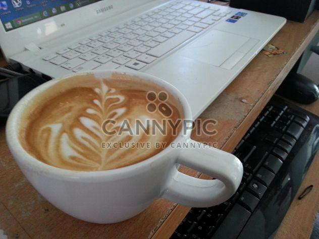 Café de latte art - Free image #194365
